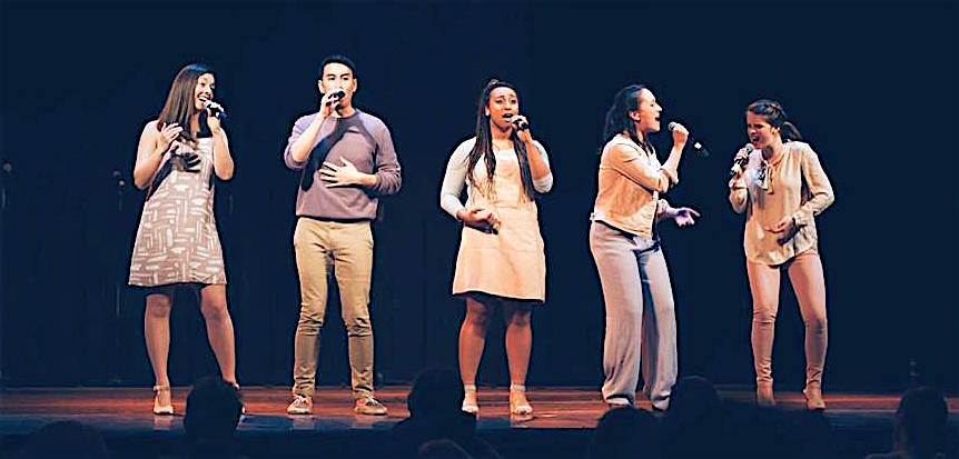 Birdland Avenue won Outstanding Choreography at the Open New England Semifinals of A Capella at Berklee College on July 29, 2017.