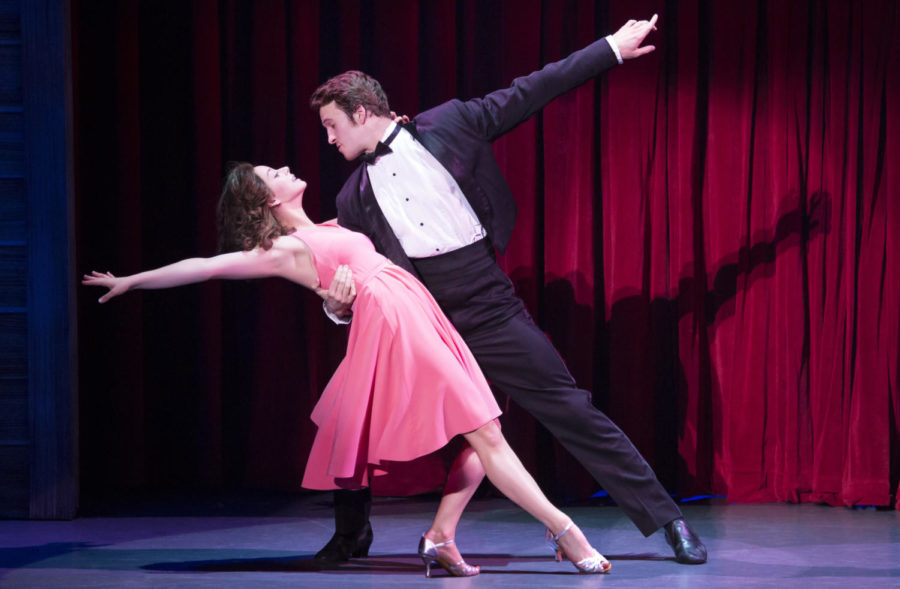 Kaleigh Courts (left) and Aaron Patrick Craven star in the national touring production of