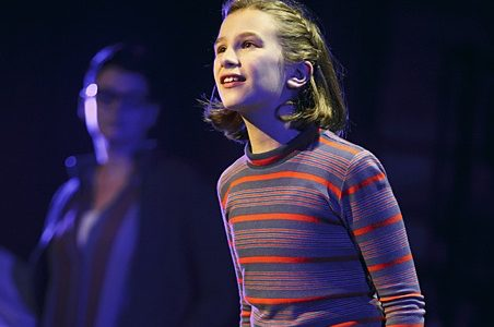 Alessandra Baldacchino as Small Alison in the