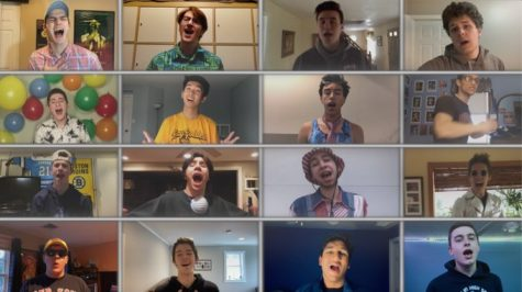 "Senior boys at Franklin (Mass.) High earned viral status with their video performance of ""I Want It That Way"". by the Backstreet Boys."