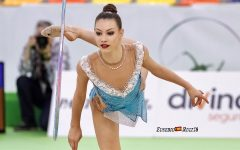 Evita Griskenas will be competing this week for a chance to represent the United State in rhythmic gymnastics at the 2021 Summer Olympics in Tokyo.